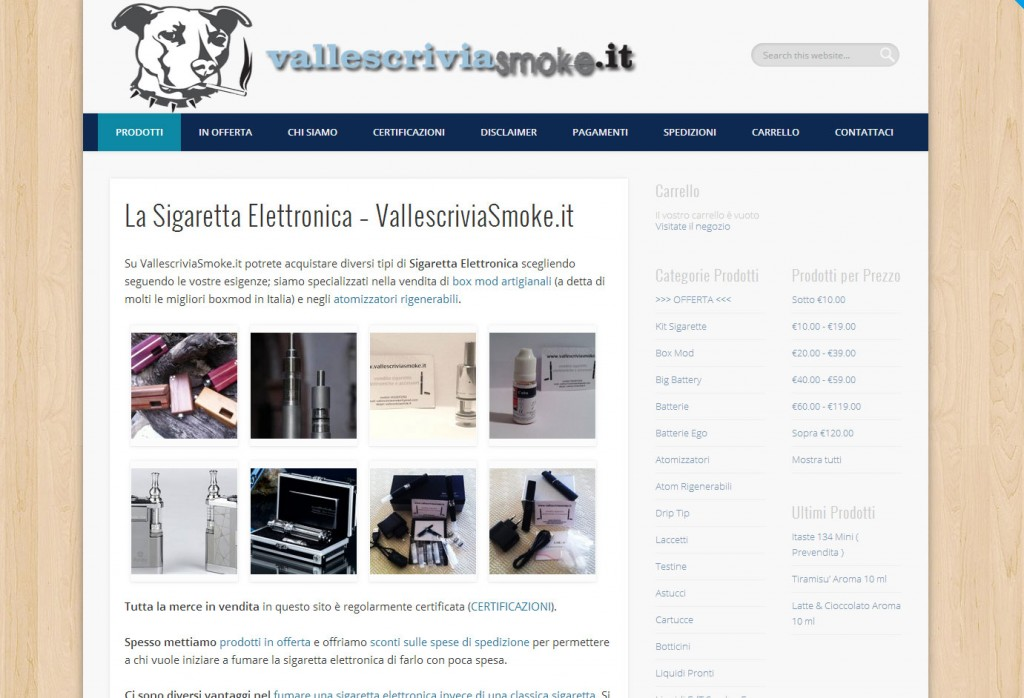 Ecommerce_Sigarette_Elettroniche